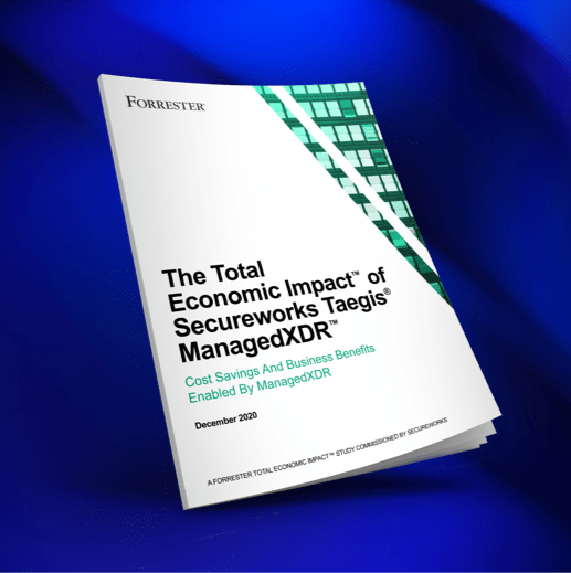 forrester tei study managedxdr