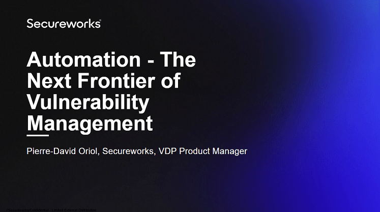 Automation - The Next Frontier of Vulnerability Management