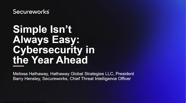 Simple Isn't Always Easy: Cybersecurity in the Year Ahead