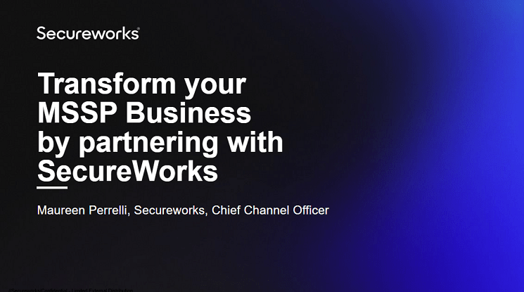 Transform your MSSP Business by partnering with Secureworks